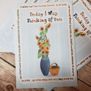 Other - 10 Thinking of You Greeting Cards, Stationery Set